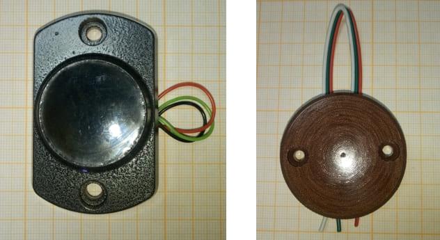 Сенсорная кнопка домофона